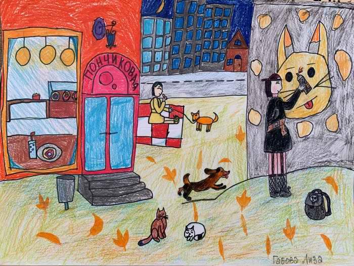 Габова Лиза, 10 лет, Я рисую граффити 10 лет