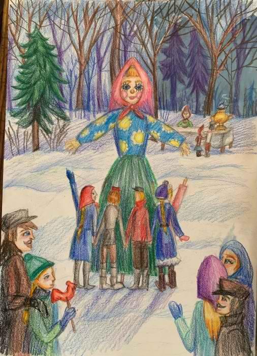 Хакимова Вера, 11 лет, Масленица